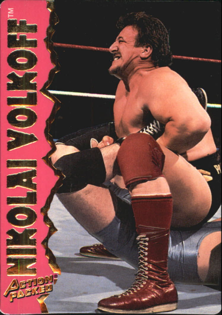 1995 Action Packed WWF #14 Nikolai Volkoff