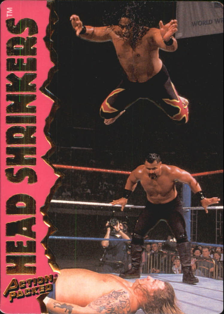 1995 Action Packed WWF #17 Head Shrinkers