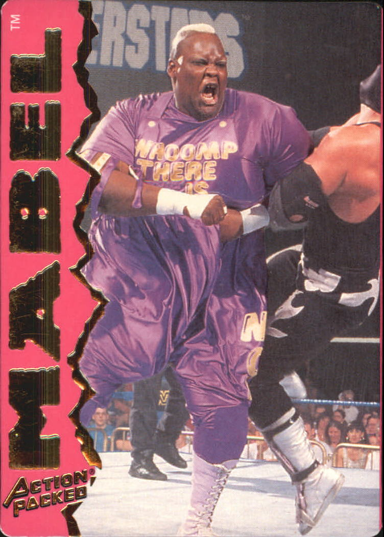 1995 Action Packed WWF #22 Mabel