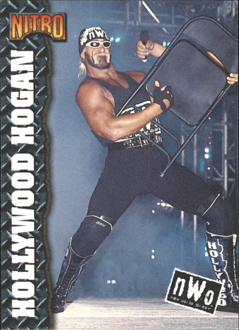 1999 Topps WCW/nWo Nitro #33 Hollywood Hogan - NM-MT