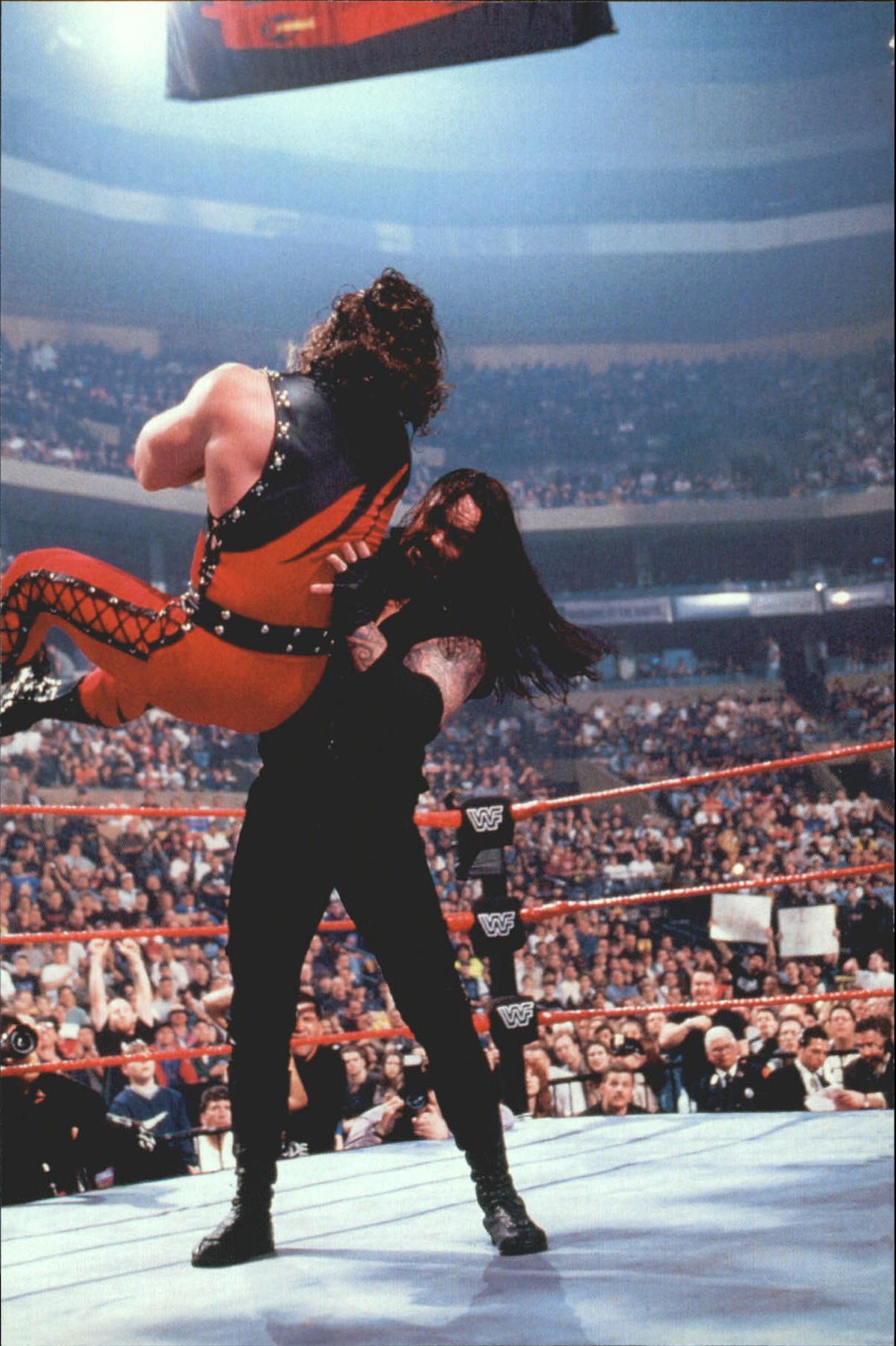 1999 WWF Wrestlemania Live 4 X 6 #25 Undertaker/Kane
