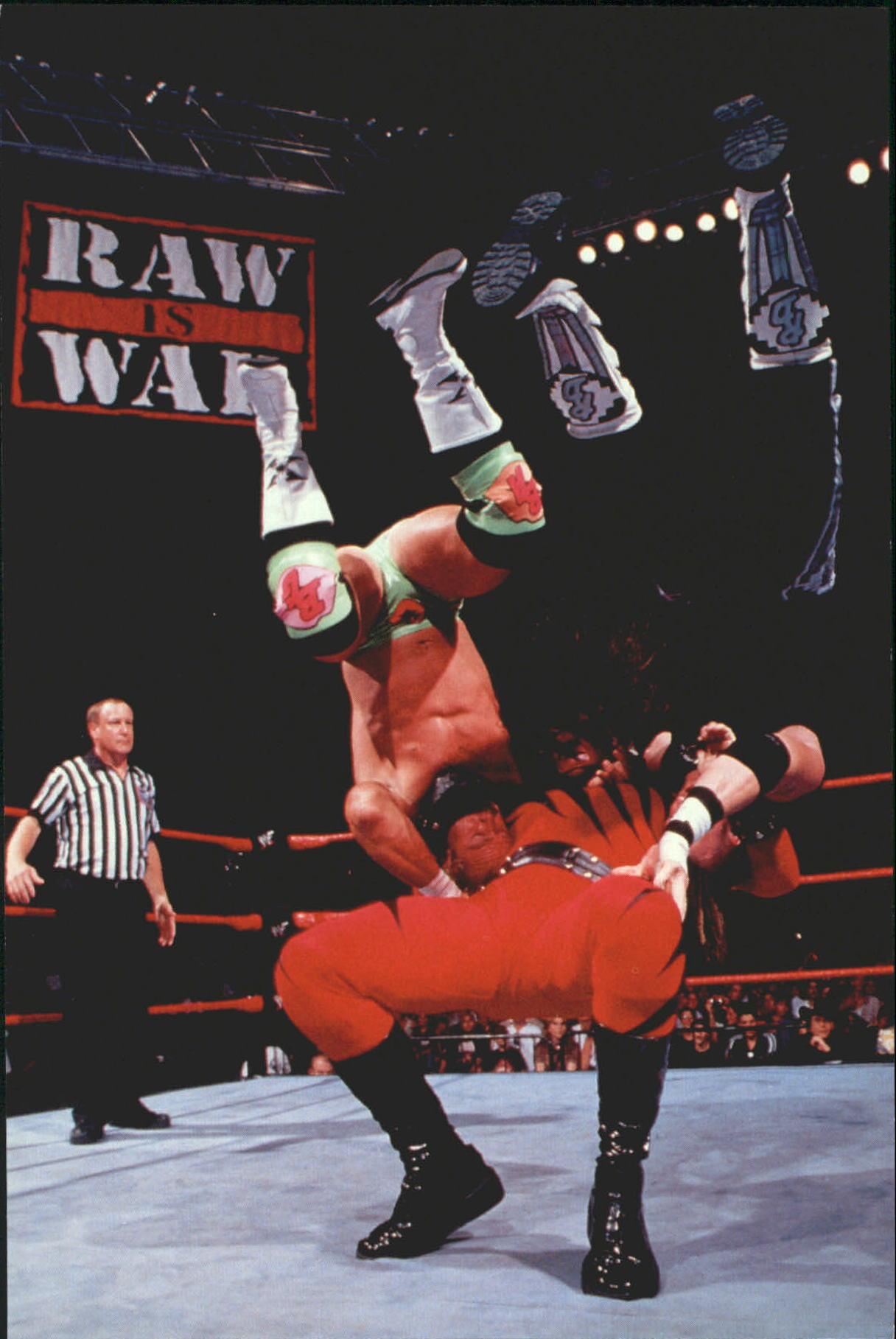 1999 WWF Wrestlemania Live 4 X 6 #33 Kane