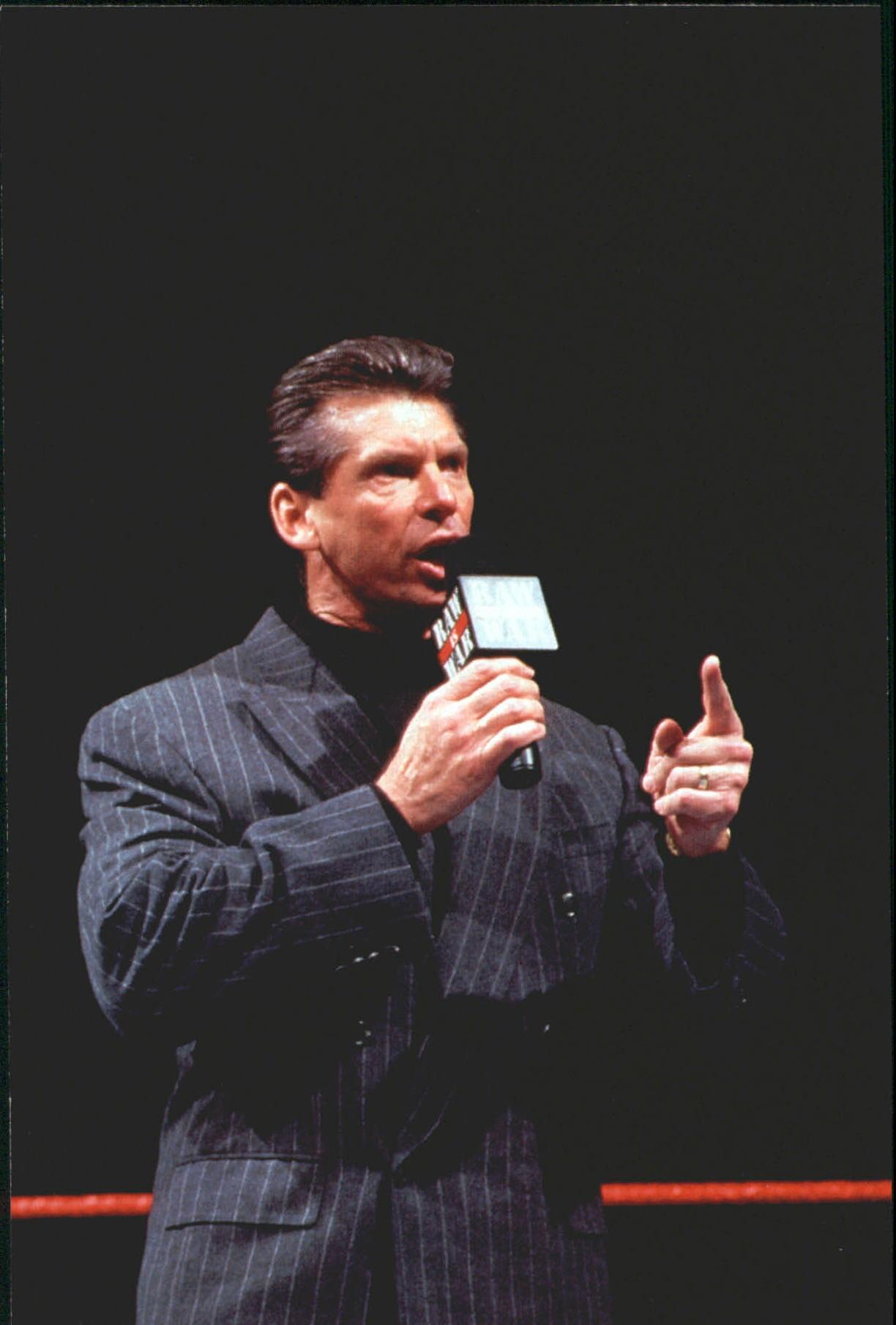 1999 WWF Wrestlemania Live 4 X 6 #38 Vince McMahon
