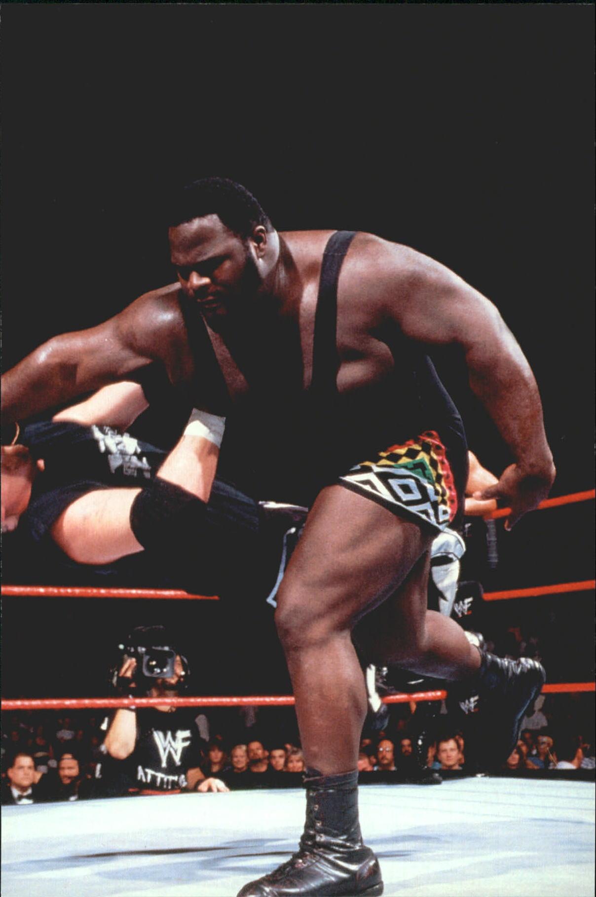 1999 WWF Wrestlemania Live 4 X 6 #41 Mark Henry