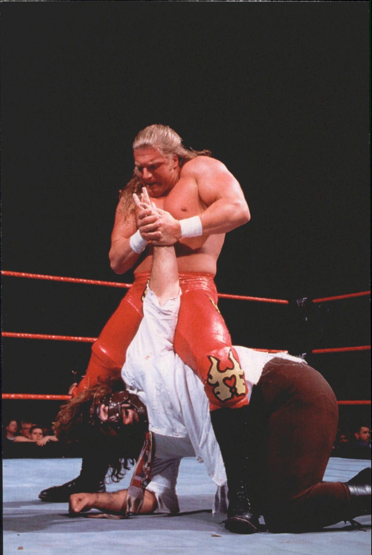 1999 Comic Images WWF WrestleMania Live 4 X 6 #50 HHH