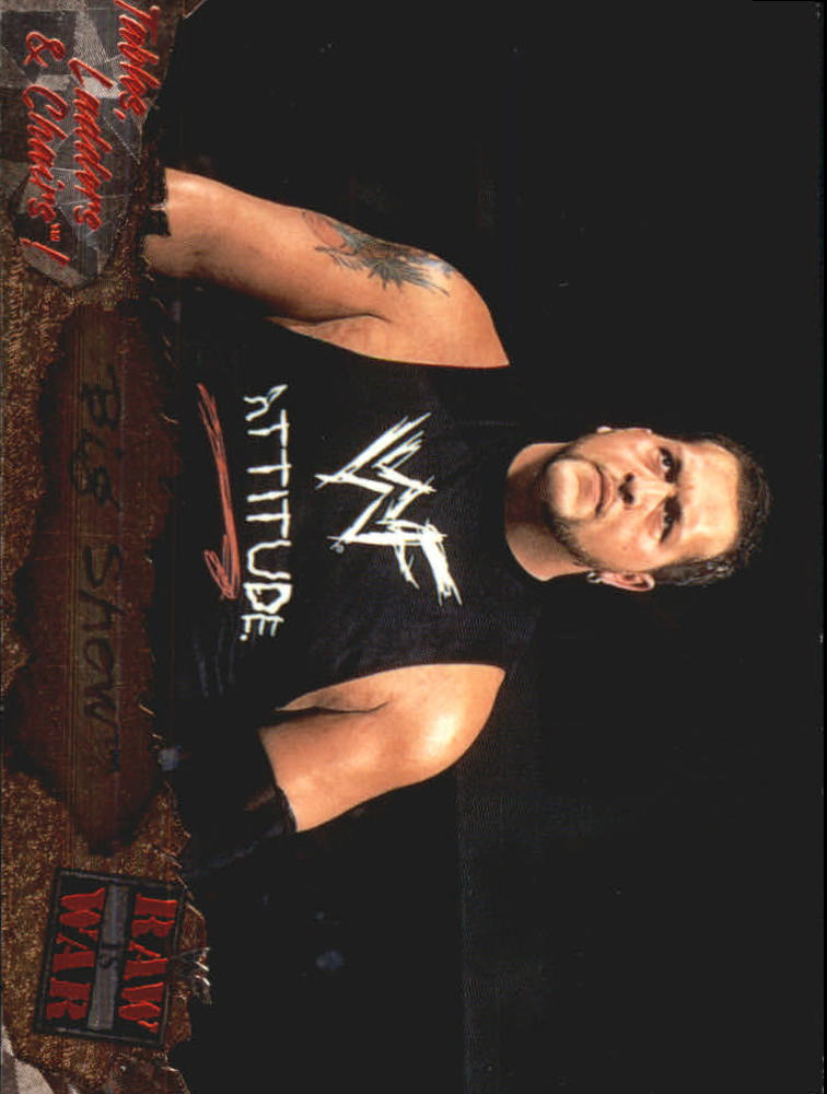 2001 Fleer WWF Raw Is War TLC #TLC13 Big Show