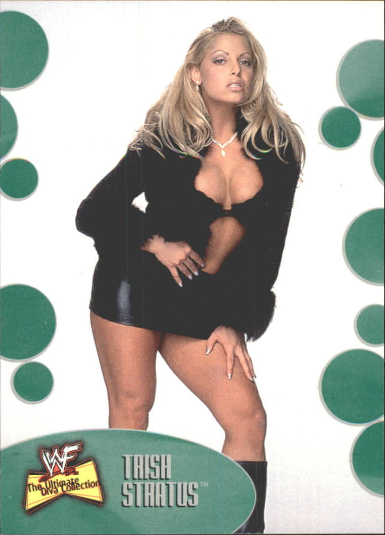 2001 Fleer WWF The Ultimate Diva Collection #1 Trish Stratus