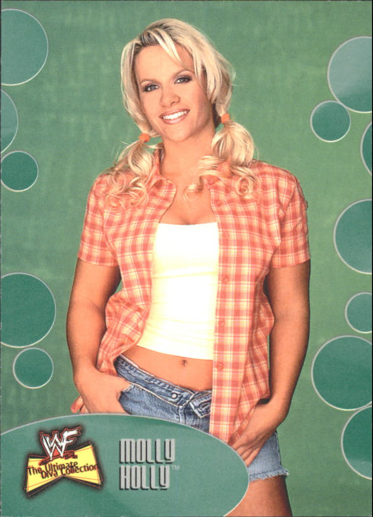 2001 Fleer WWF The Ultimate Diva Collection #6 Molly Holly