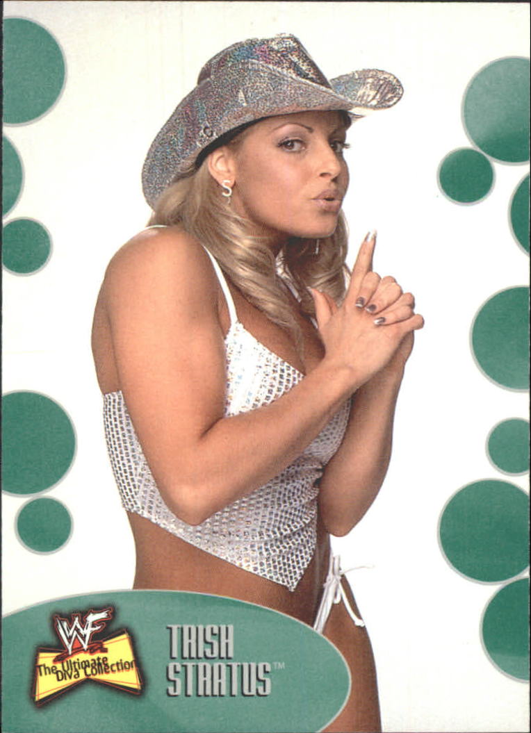 2001 Fleer WWF The Ultimate Diva Collection #8 Trish Stratus
