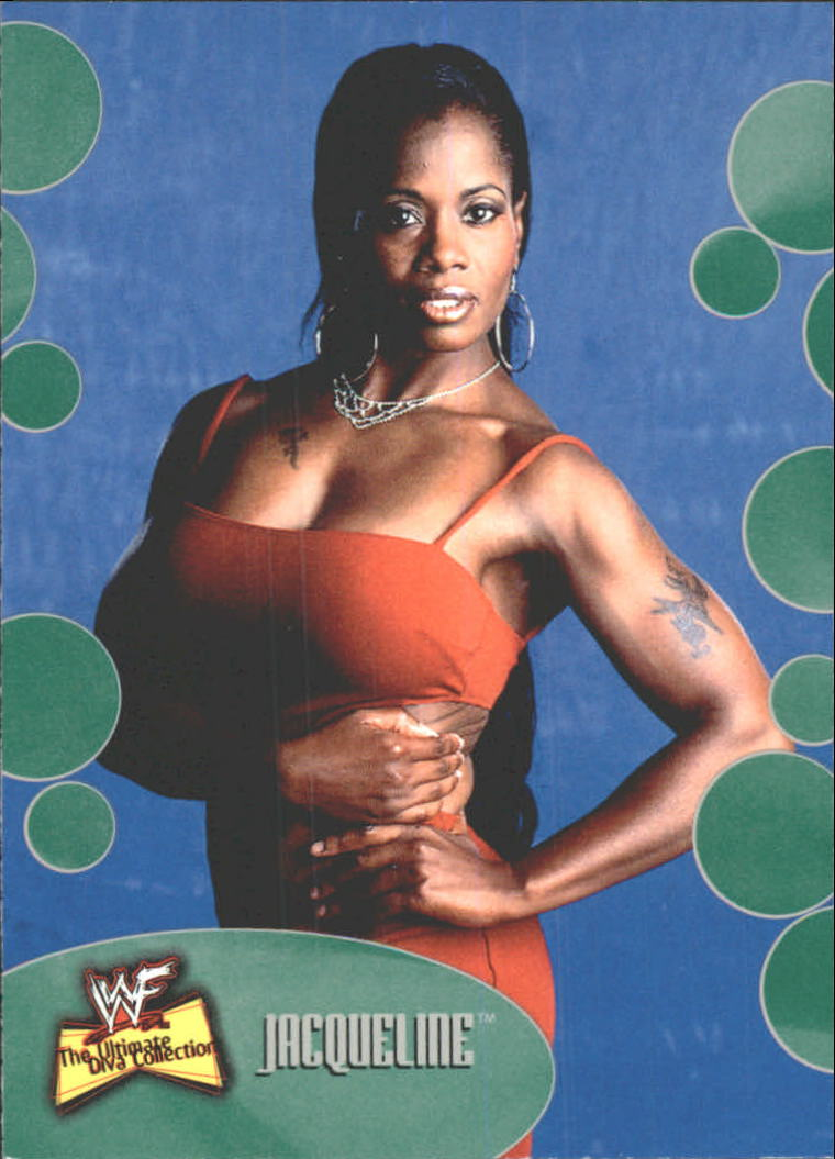2001 Fleer WWF The Ultimate Diva Collection #11 Jacqueline
