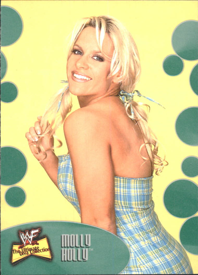 2001 Fleer WWF The Ultimate Diva Collection #13 Molly Holly