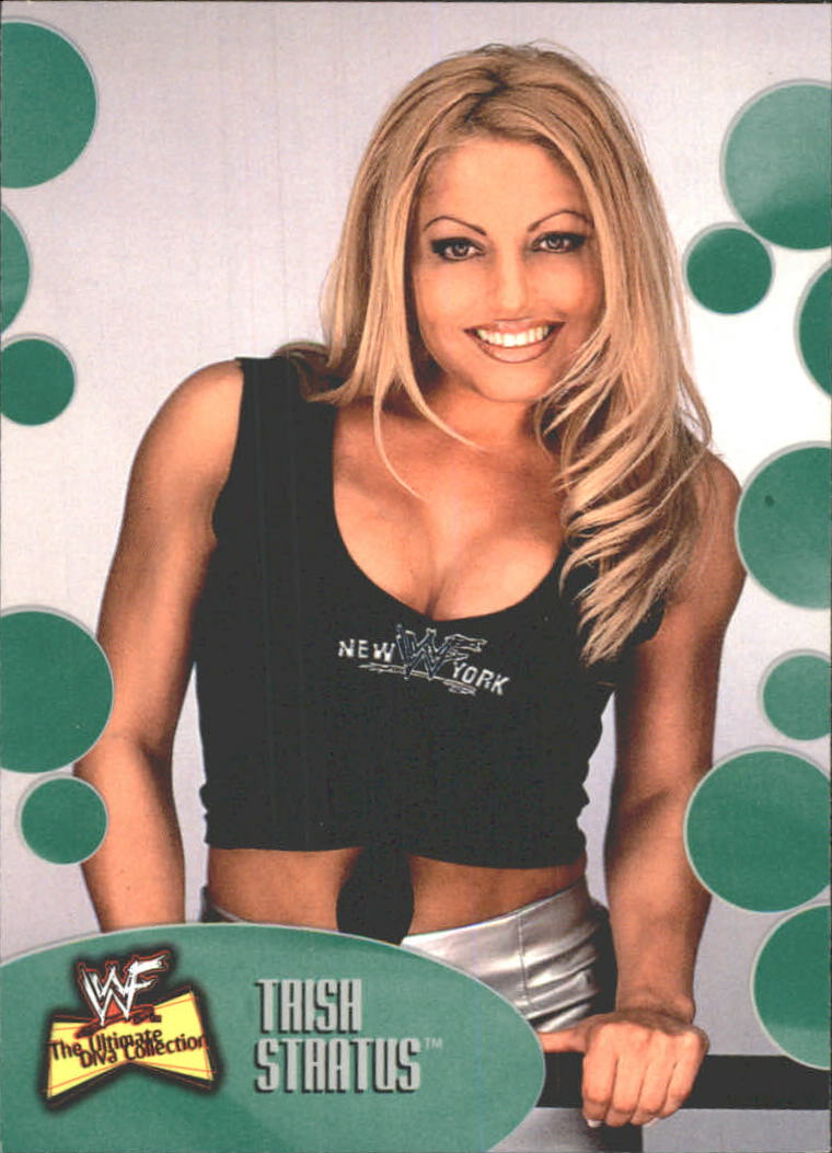 2001 Fleer WWF The Ultimate Diva Collection #15 Trish Stratus