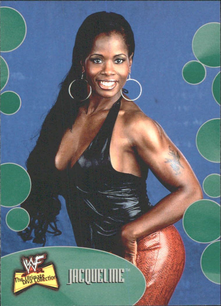 2001 Fleer WWF The Ultimate Diva Collection #18 Jacqueline