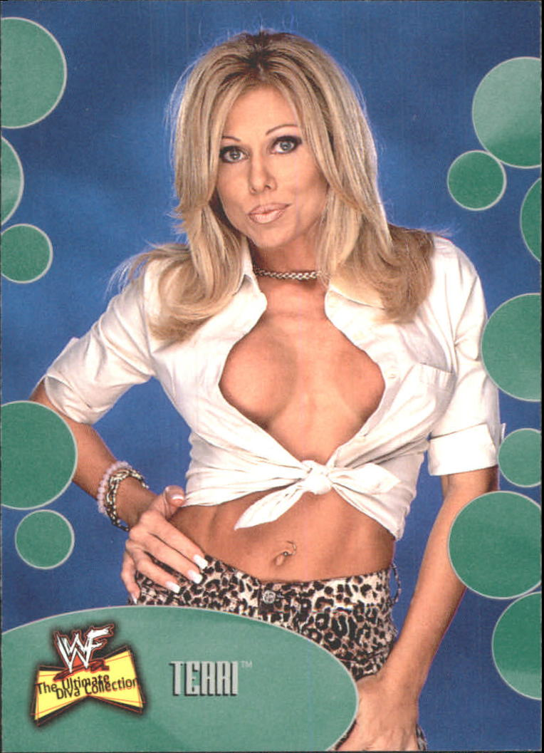 2001 Fleer WWF The Ultimate Diva Collection #21 Terri