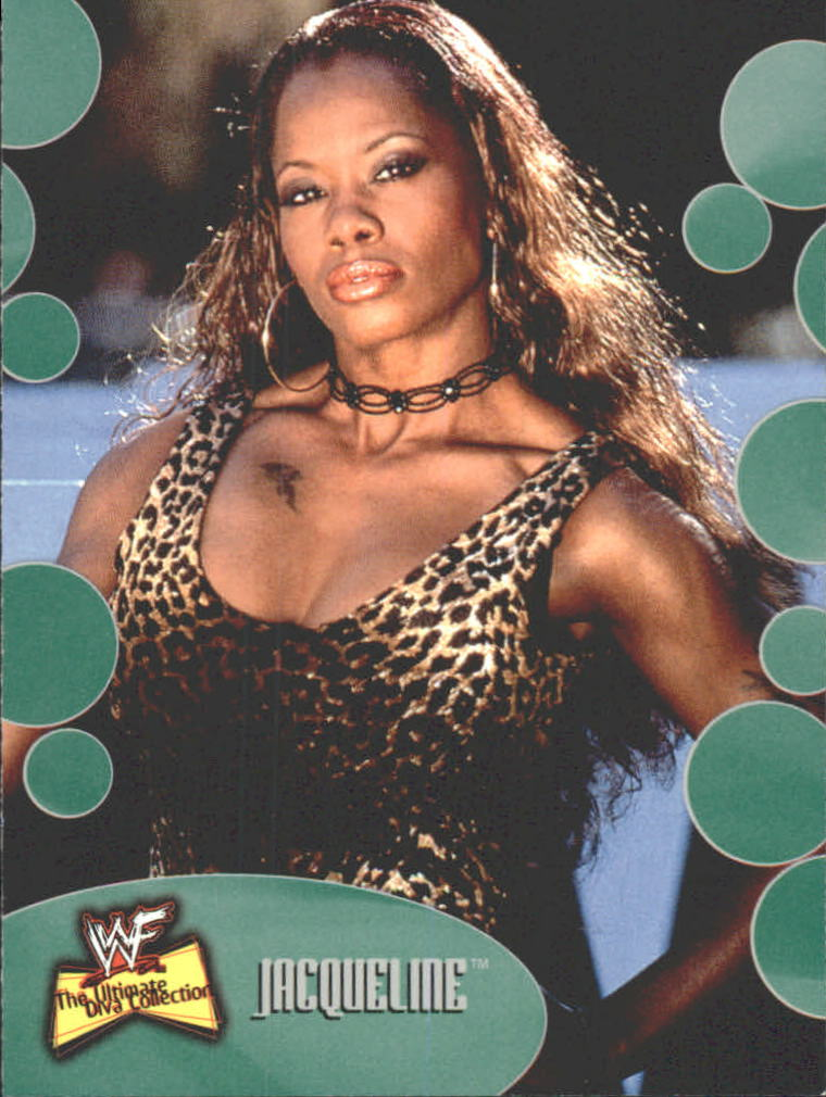 2001 Fleer WWF The Ultimate Diva Collection #25 Jacqueline
