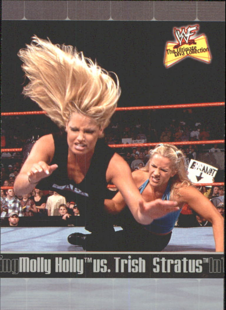 2001 Fleer WWF The Ultimate Diva Collection #81 M.Holly/T.Stratus ITR
