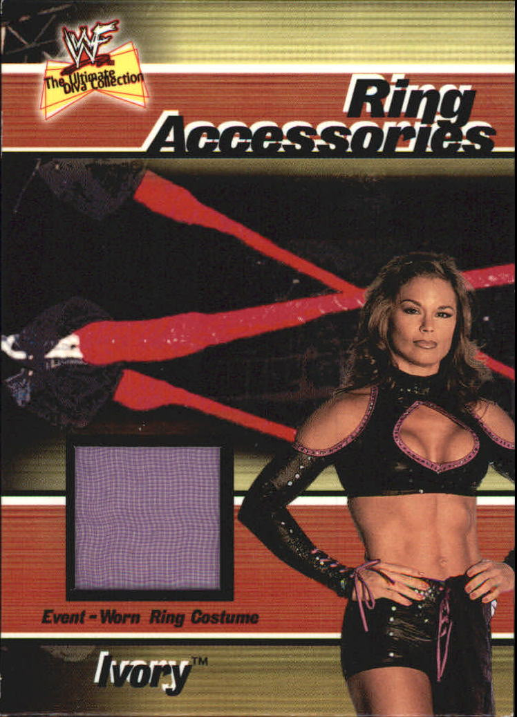 2001 Fleer WWF The Ultimate Diva Collection Ring Accessories #2 Ivory
