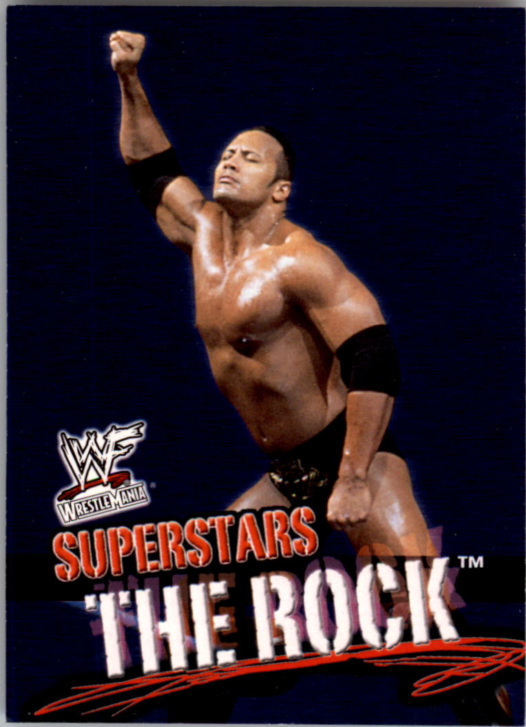 2001 Fleer WWF Wrestlemania #1 The Rock