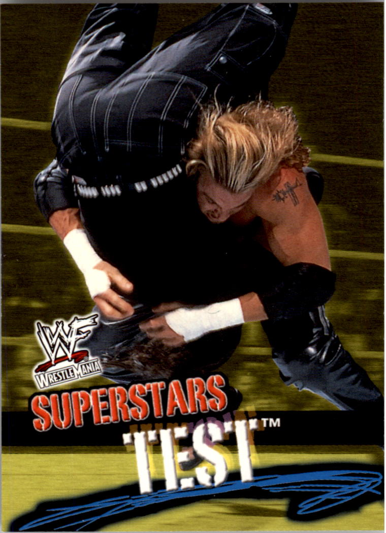 2001 Fleer WWF Wrestlemania #4 Test