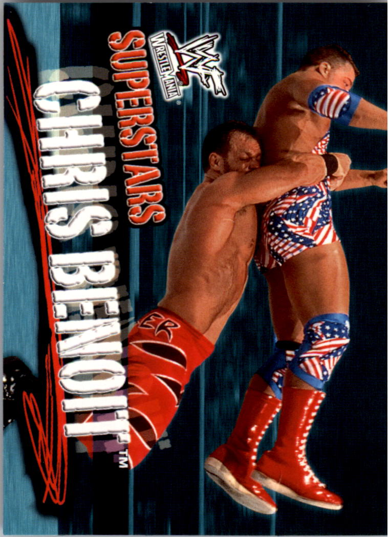 2001 Fleer WWF Wrestlemania #6 Chris Benoit