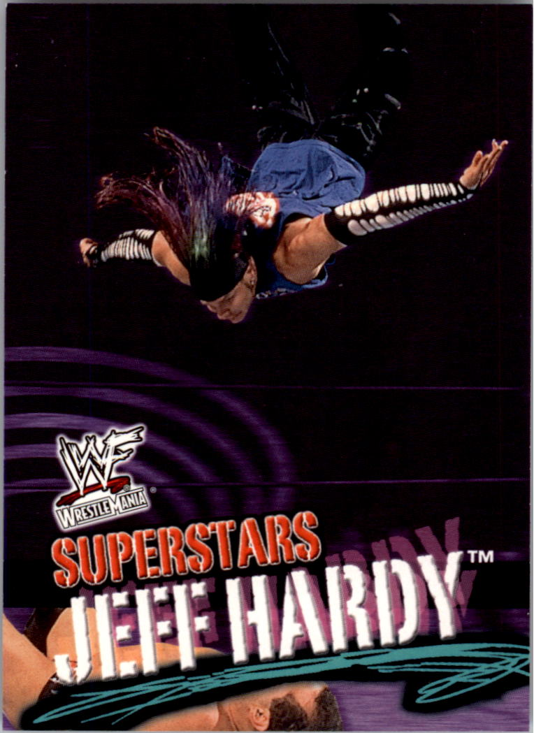 2001 Fleer WWF Wrestlemania #7 Jeff Hardy
