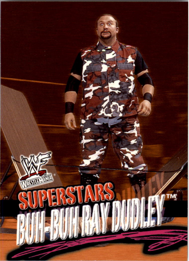 2001 Fleer WWF Wrestlemania #16 Bubba Ray Dudley