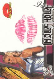 2001 Fleer WWF Wrestlemania Lip Service #5 Molly Holly