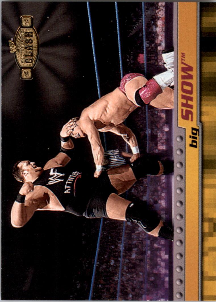 2001 Fleer WWF Championship Clash #18 Big Show