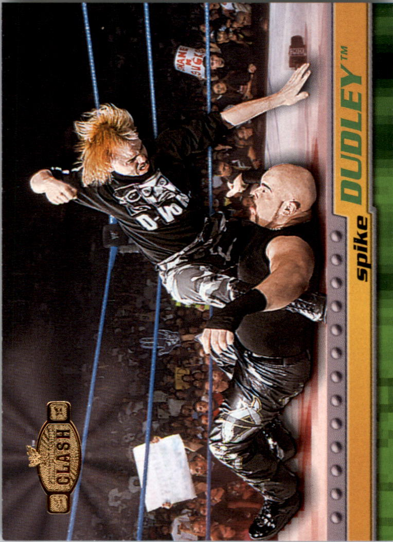 2001 Fleer WWF Championship Clash #20 Spike Dudley