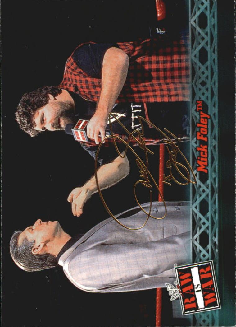2001 Fleer WWF Raw Is War #3 Mick Foley
