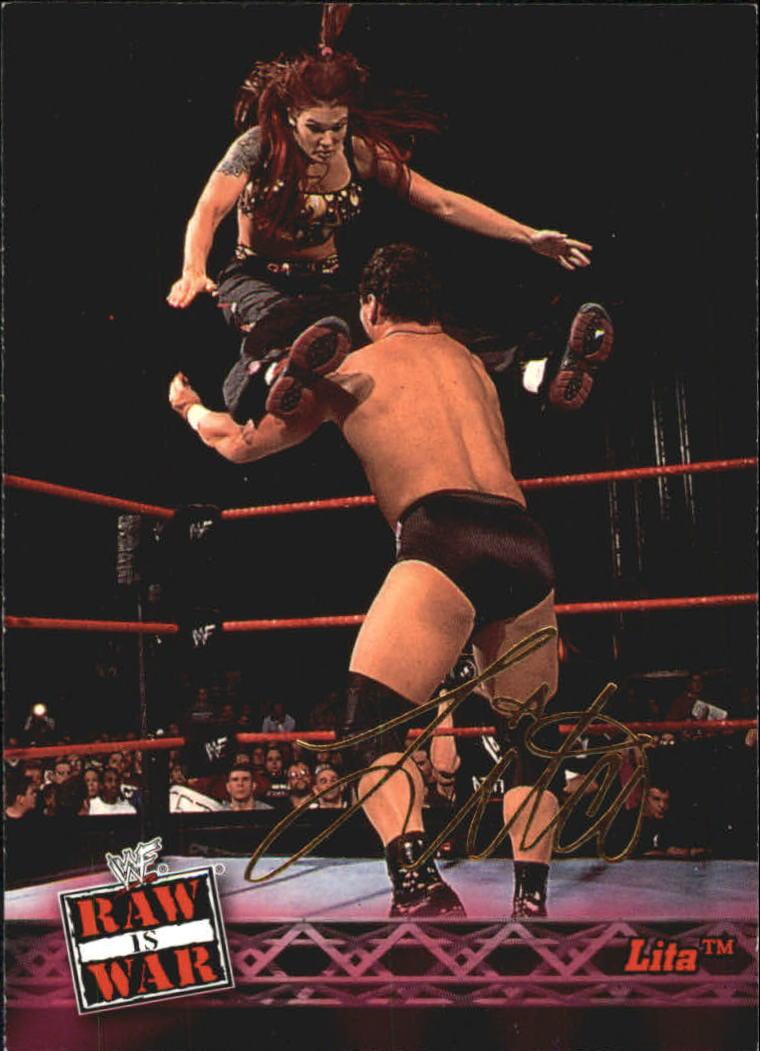 2001 Fleer WWF Raw Is War #6 Lita
