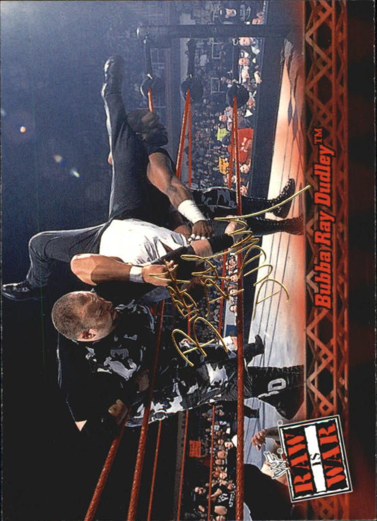 2001 Fleer WWF Raw Is War #7 Bubba Ray Dudley