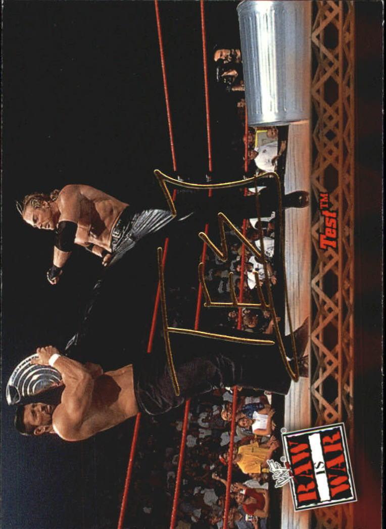 2001 Fleer WWF Raw Is War #18 Test