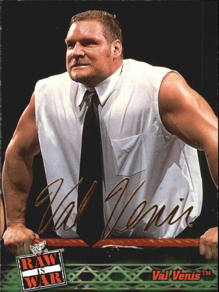 2001 Fleer WWF Raw Is War #21 Val Venis
