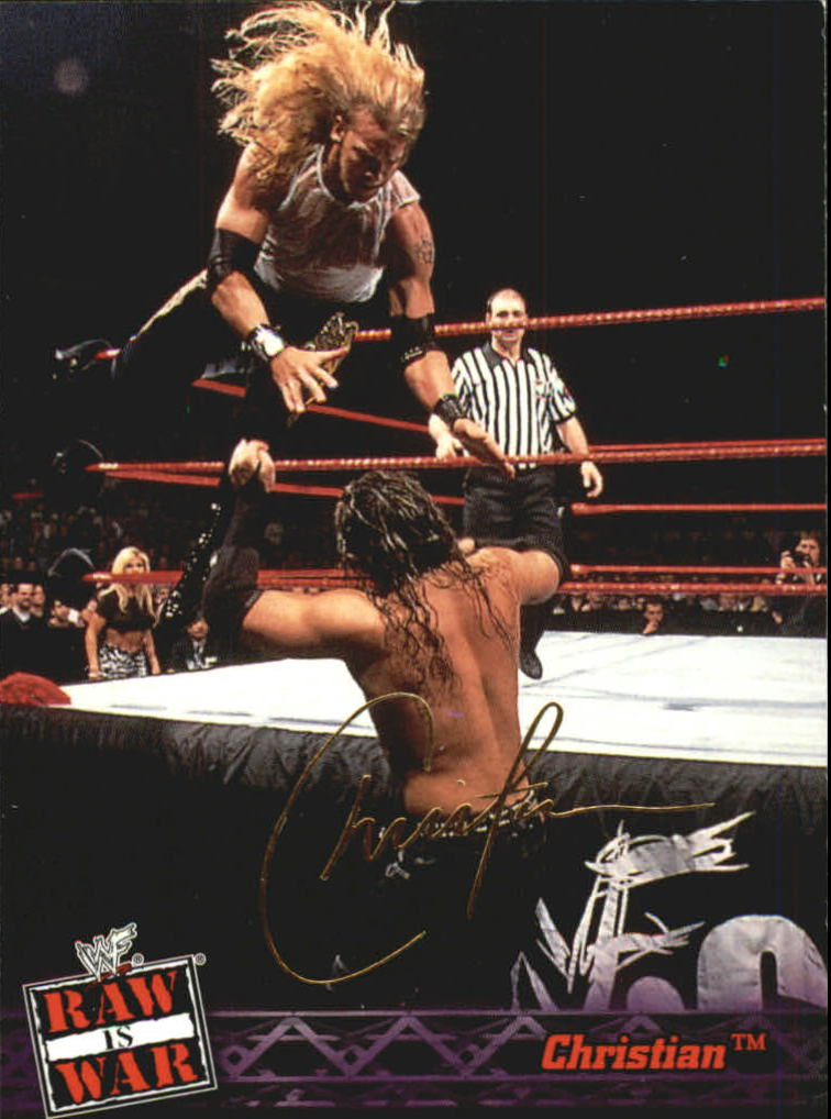 2001 Fleer WWF Raw Is War #25 Christian