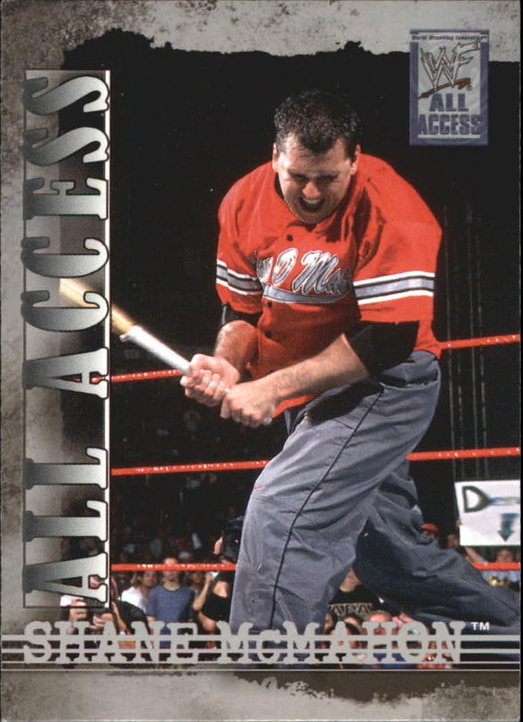 2002 Fleer WWF All Access #2 Shane McMahon