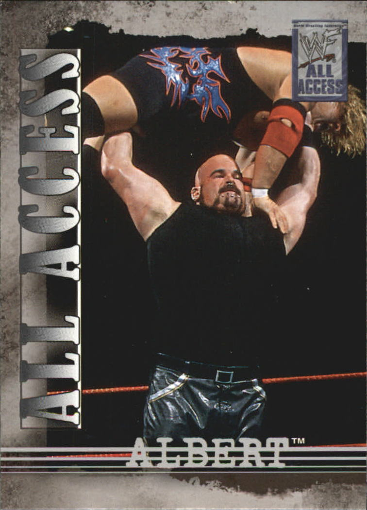 2002 Fleer WWF All Access #8 Albert