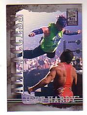 2002 Fleer WWF All Access #10 Jeff Hardy