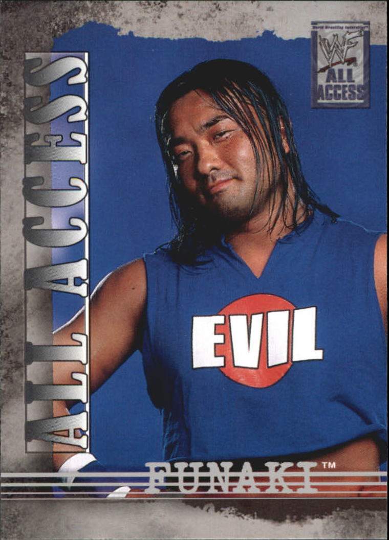 2002 Fleer WWF All Access #14 Funaki