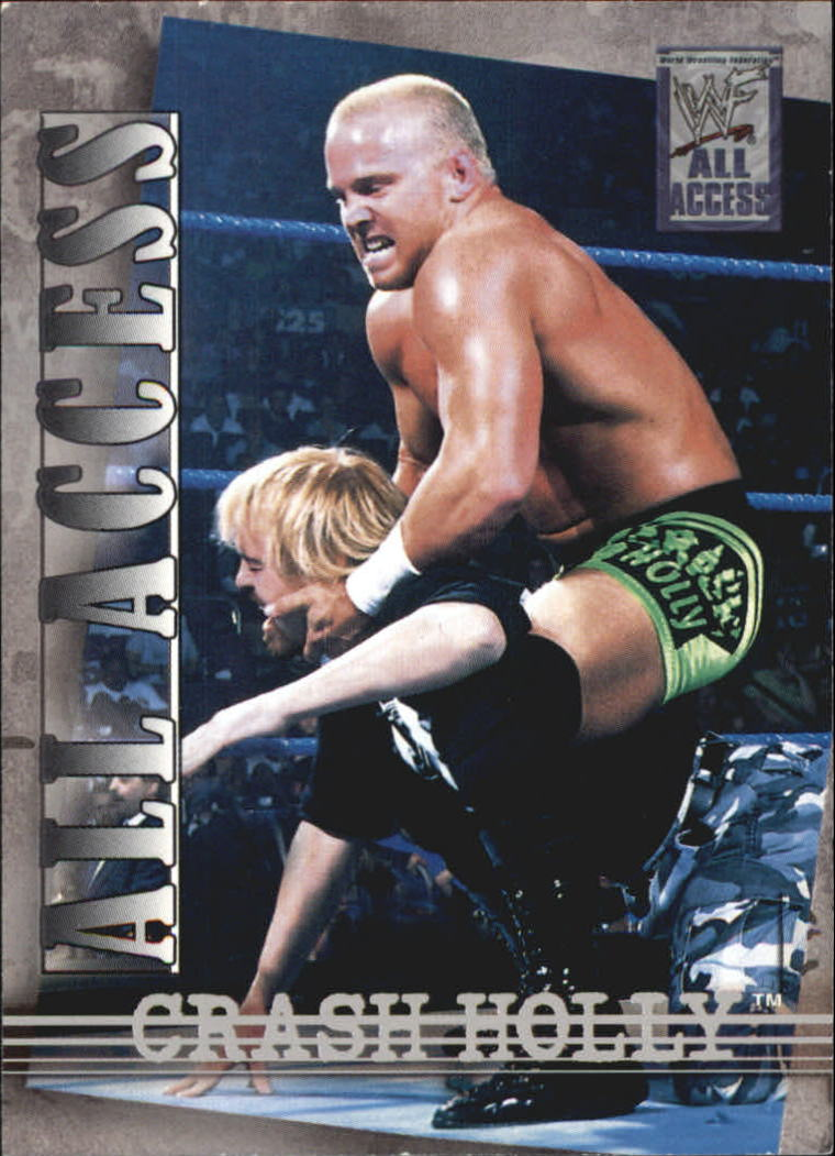 2002 Fleer WWF All Access #19 Crash Holly