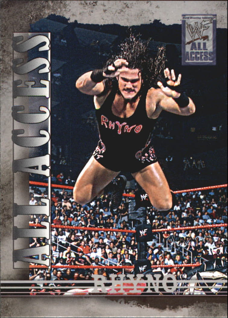 2002 Fleer WWF All Access #20 Rhyno