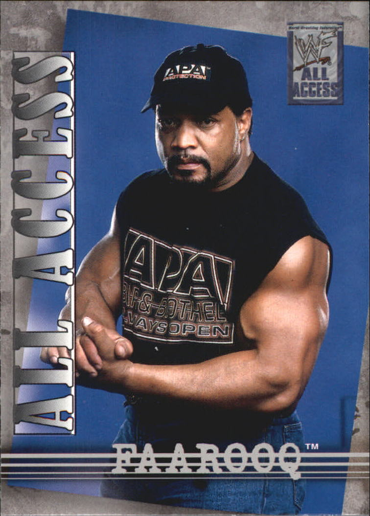 2002 Fleer WWF All Access #21 Faarooq