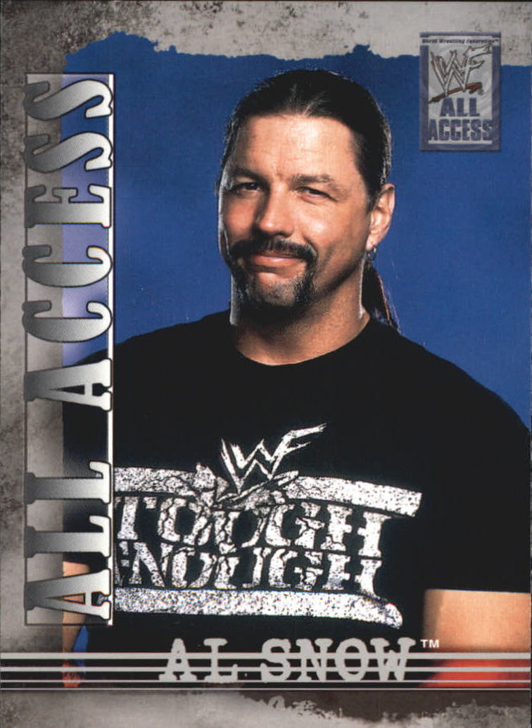 2002 Fleer WWF All Access #22 Al Snow