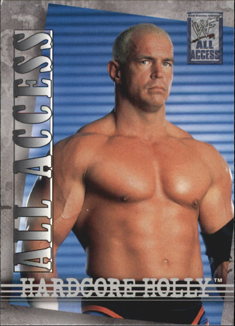 2002 Fleer WWF All Access #23 Hardcore Holly