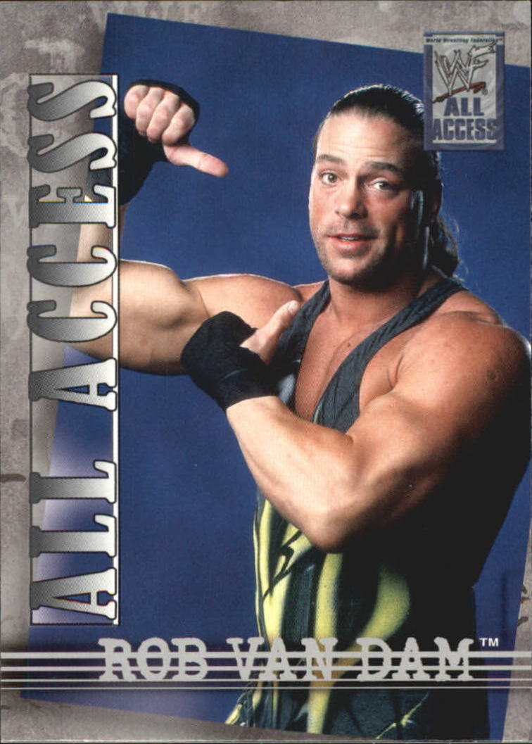 2002 Fleer WWF All Access #25 Rob Van Dam