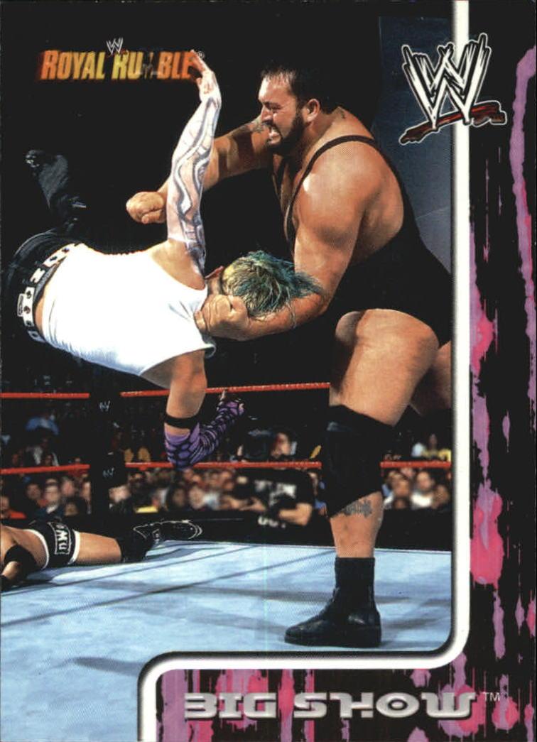 2002 Fleer WWF Royal Rumble #1 Big Show