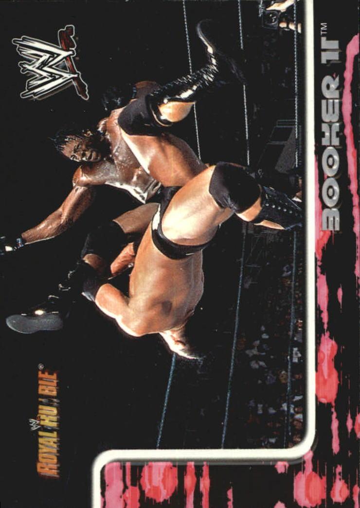 2002 Fleer WWF Royal Rumble #2 Booker T