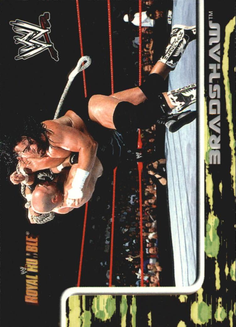 2002 Fleer WWF Royal Rumble #3 Bradshaw