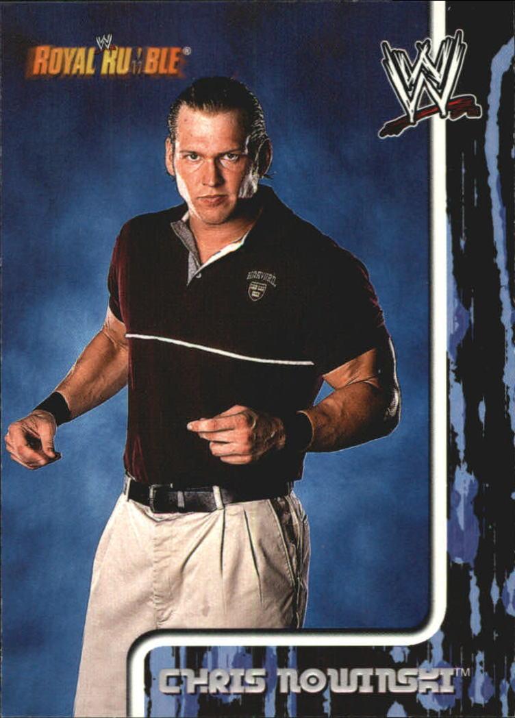 2002 Fleer WWF Royal Rumble #6 Chris Nowinski