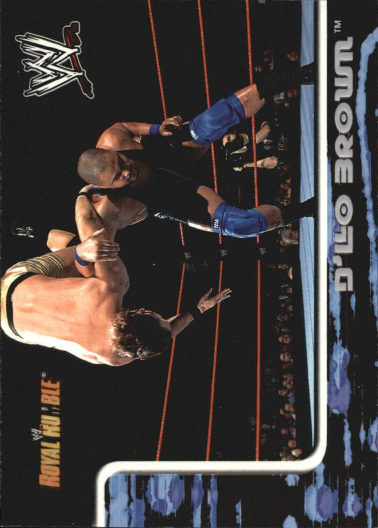 2002 Fleer WWF Royal Rumble #8 D'Lo Brown